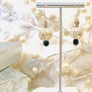 Frontrow.style Jewelry - Sterling Silver Earrings Winter Silvered Ball